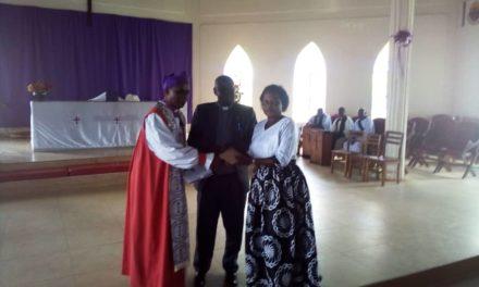 Diocese of Kinkizi gets new Diocesan Secretary