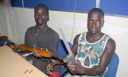 3 ARMED ROBBERS ARRESTED IN A JOINT SECURITY OPERATION