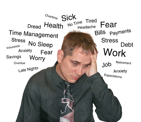 Stress Levels in people increase world wide