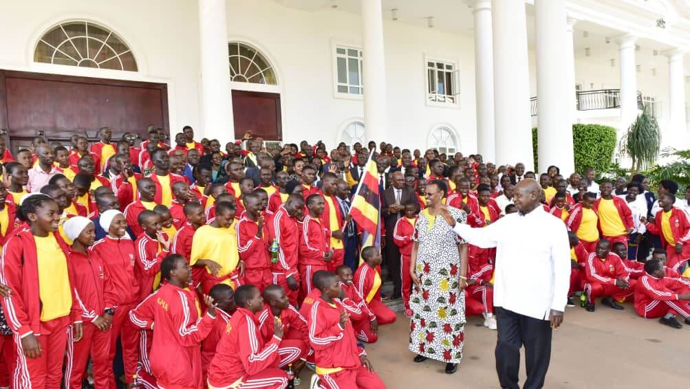 UPDF Paticipates In The East African Community Military Games And Cultural Event