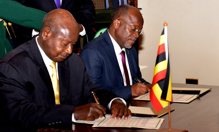 Uganda and Tanzania in a Fresh Agriculture, Immigration Deal
