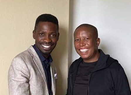 What Bobi Wines' Tour of South Africa Tells Us About His Candidature